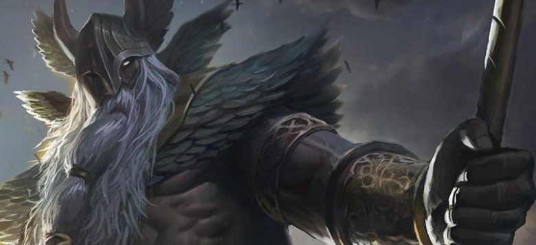 Image of Odin the Allfather Gungnir Spear