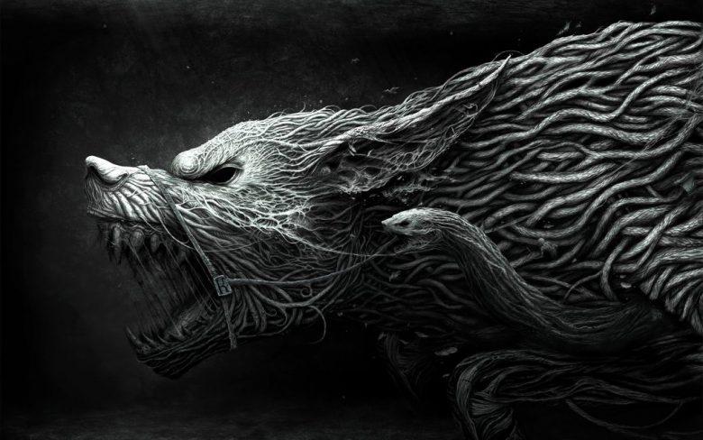 Image of Viking Wolf Symbol