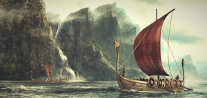 Image of Viking ships