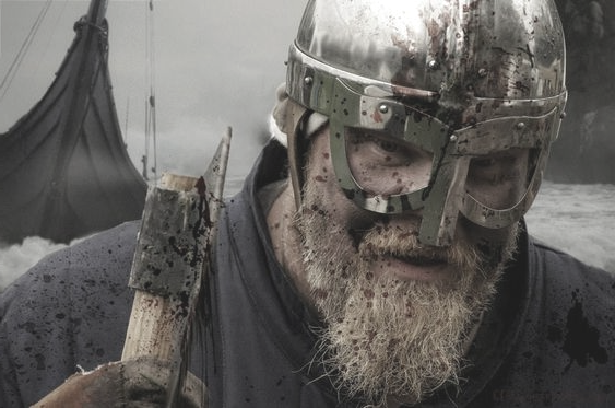 Image of Viking warrior and axe