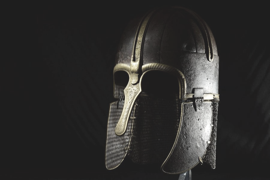 Image of Viking helmet