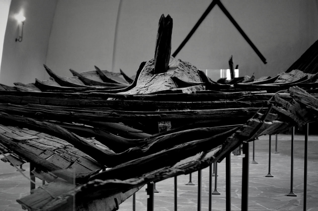The tune ship was the first Viking ship to be excavated in 1867. The ship was dedicated to the man buried inside the burial mound