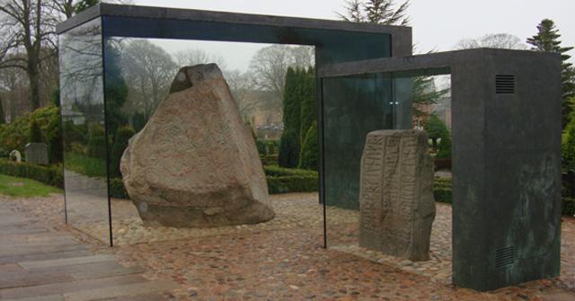 Jelling Stones Viking famous sites