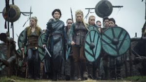 Viking shieldmaiden was among the most inspiring things in the Viking age