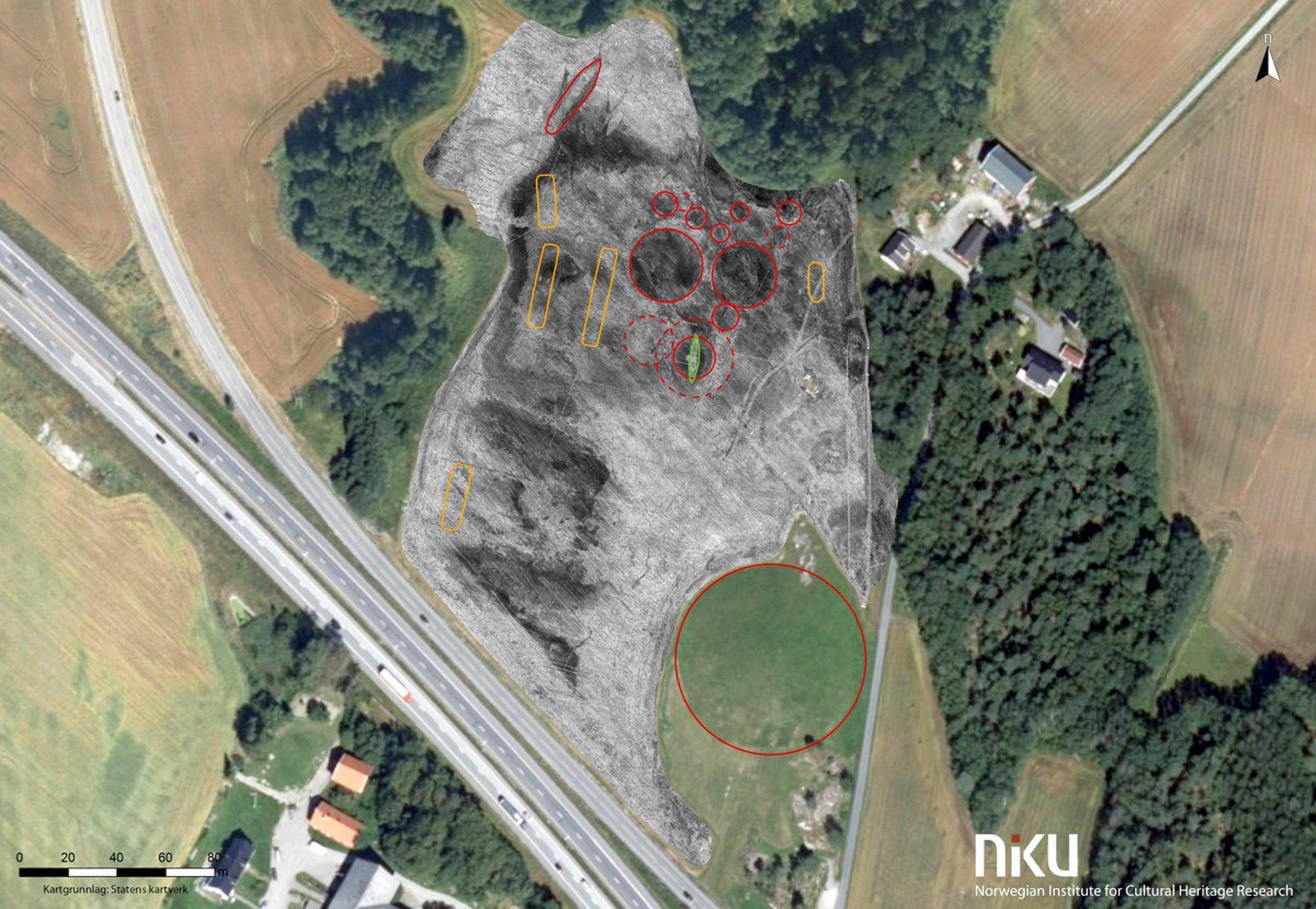 Viking ship burial site detected in Norway