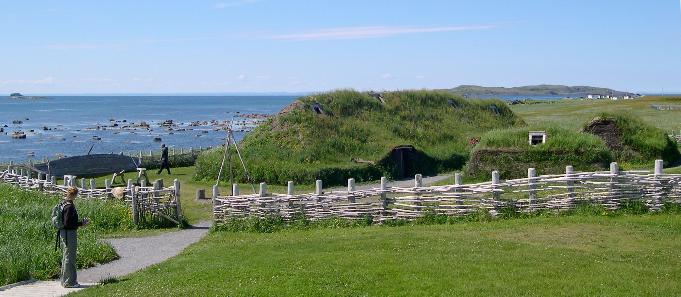 L'anse Aux Meadows now is now a UNESCO World Heritage dating back to the Vikings