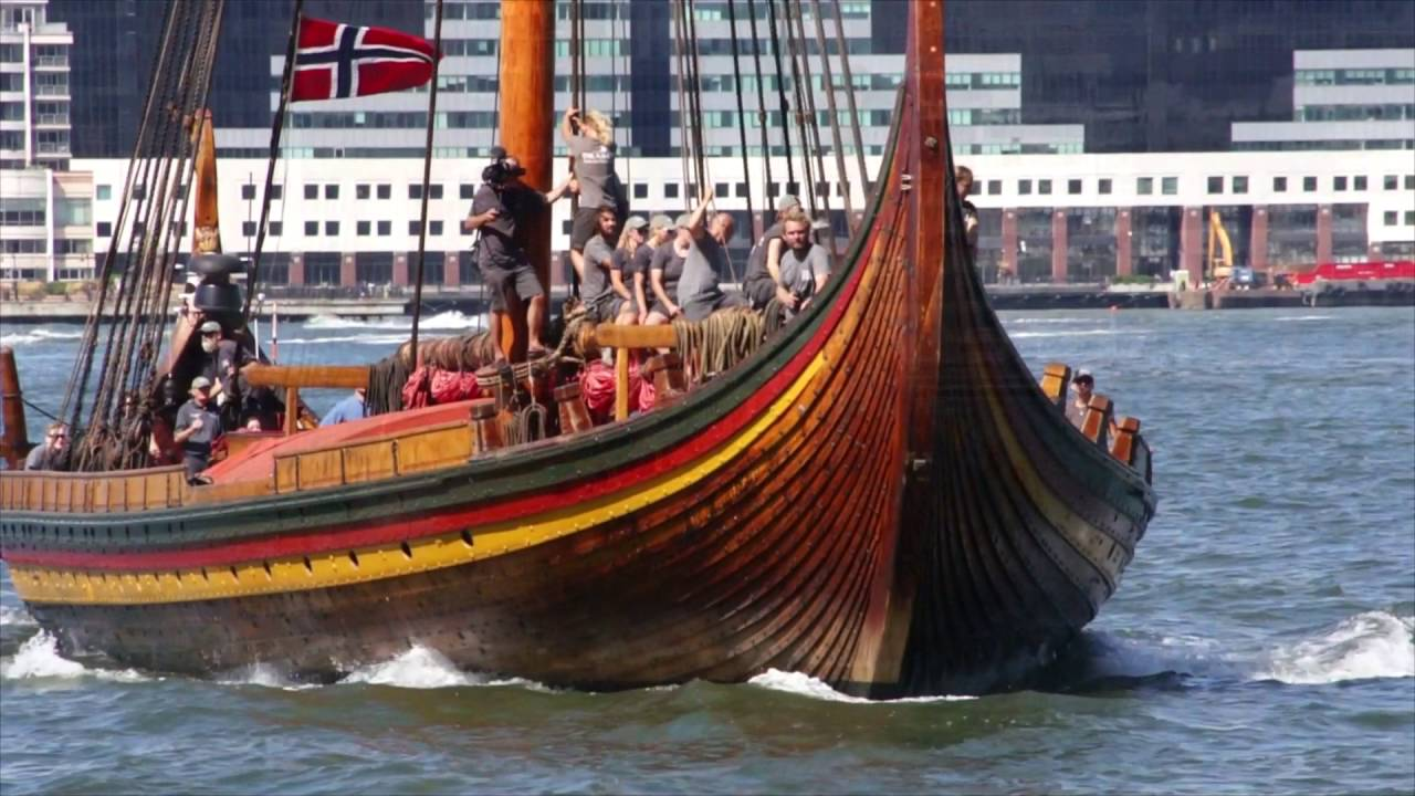 Draken Harald Fairhair the largest Viking replica ship