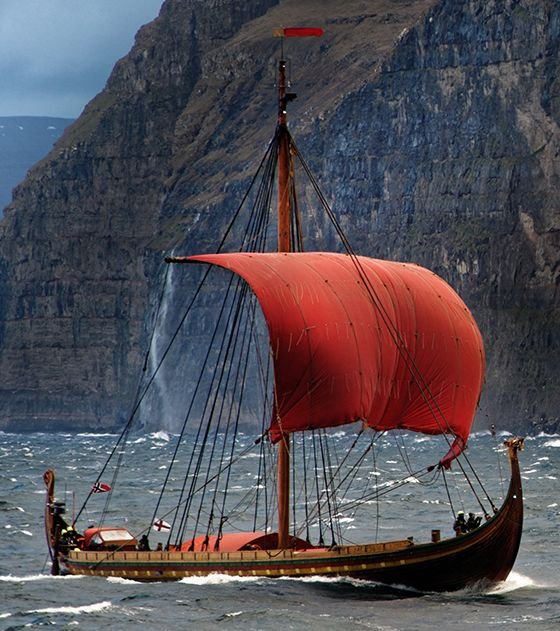 Draken Harald Fairhair is the largest Viking replica ship in the modern times