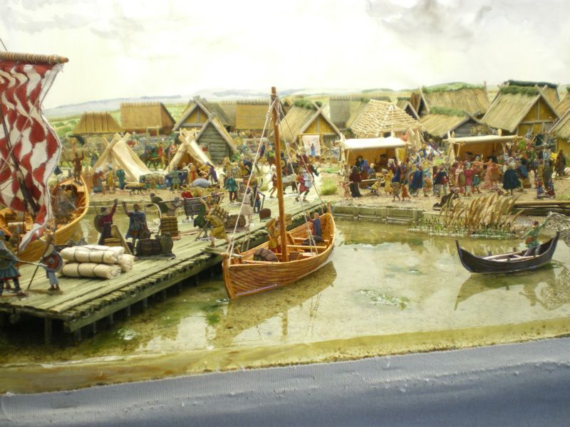 Hedeby Town in the Viking Age