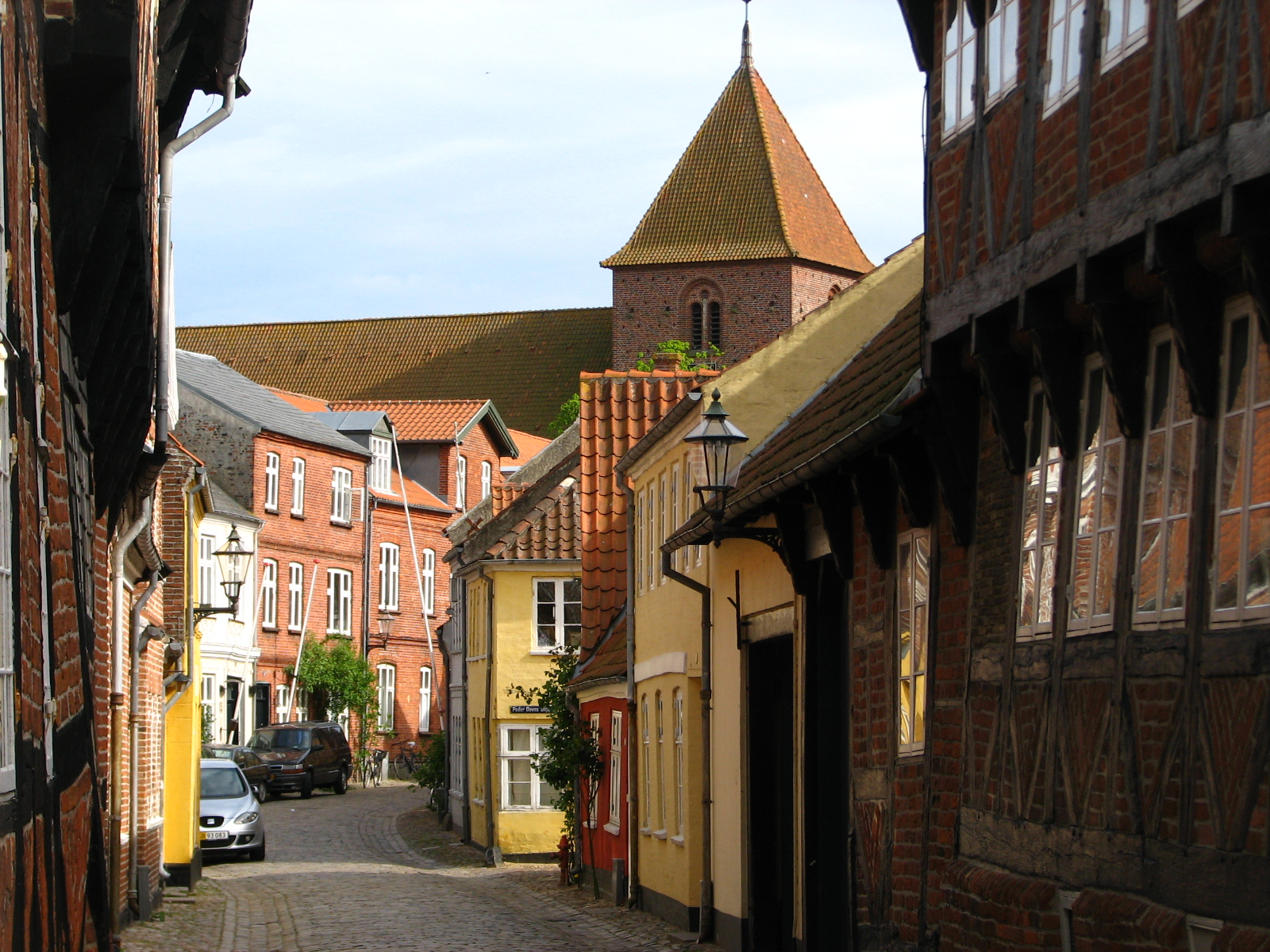 The beautiful Ribe town is the oldest Danish town dating back to the Viking Age