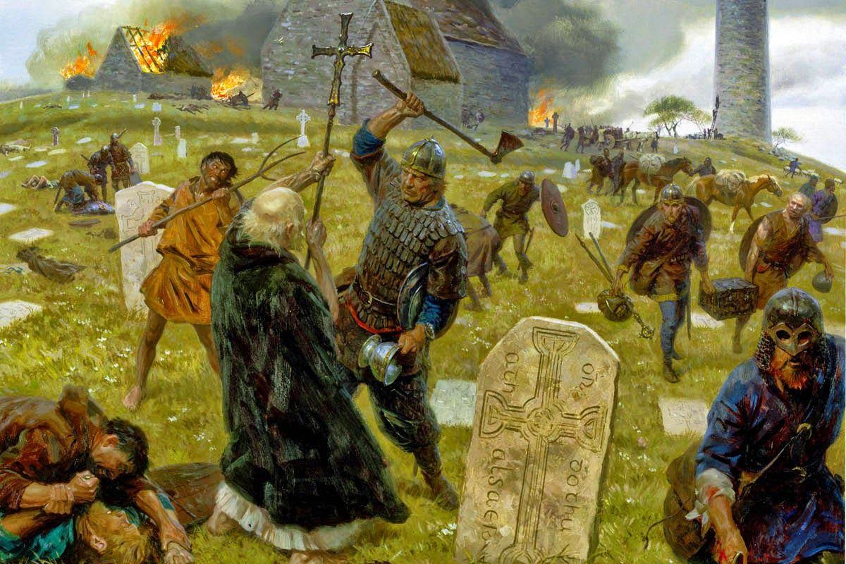 Viking Lindisfarne Attack