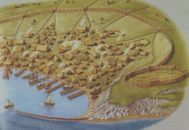 Viking Birka Town is among the most important Viking trading towns