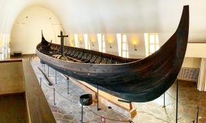 Viking ships found in Vestfold, Norway included Gokstad ship and Oseberg ship