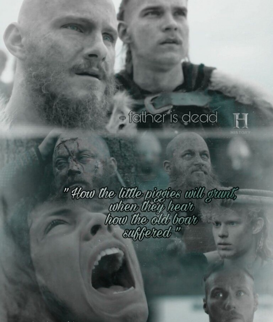 Hearing the death of Ragnar Lothbrok, the Ragnar's sons declared eternal war on King Aella of Northumbria