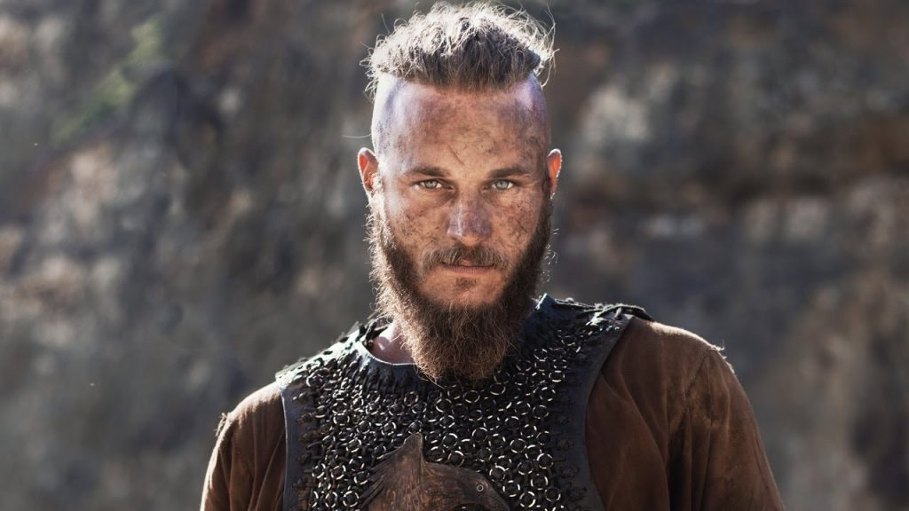 "Ragnar Lothbrok in ""Vikings"" TV series"