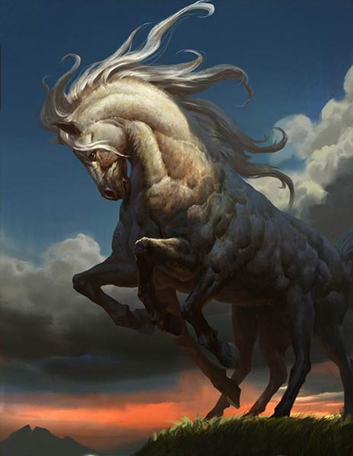Sleipnir the horse in Norse mythology was the horse of Odin the Allfather.