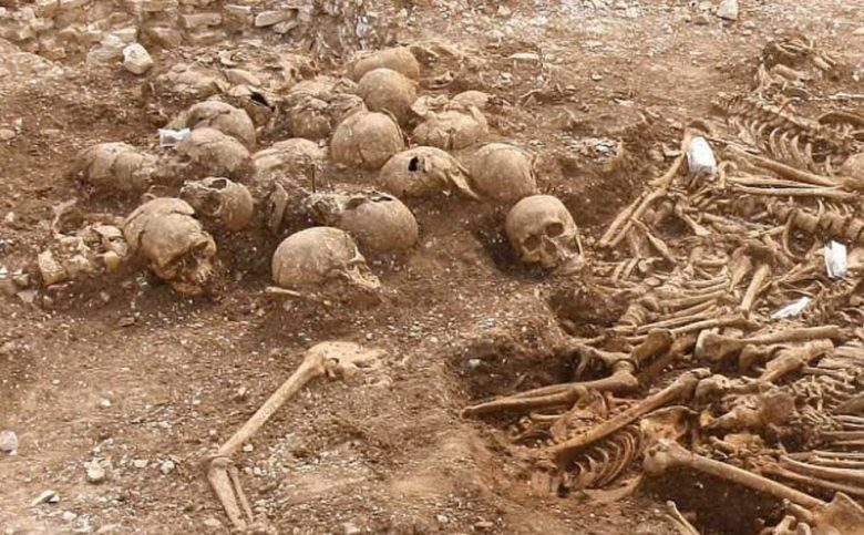 Viking headless skeletons in Dorset