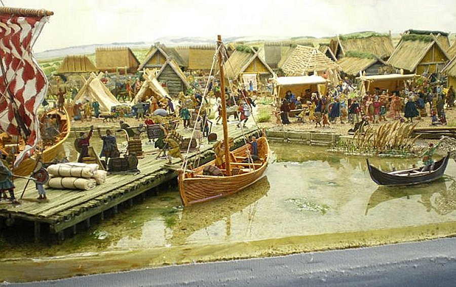 Viking trade towns