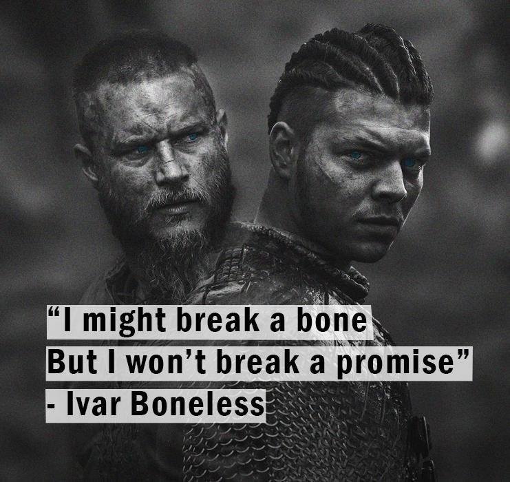 Ivar quote Viking King