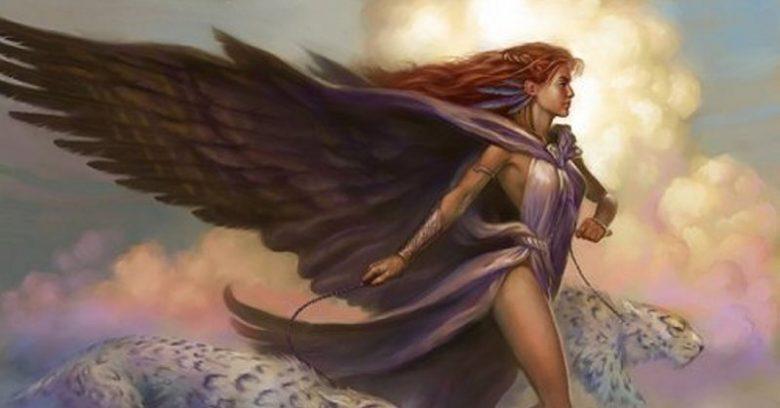 Image of Freya Goddess of War and Love