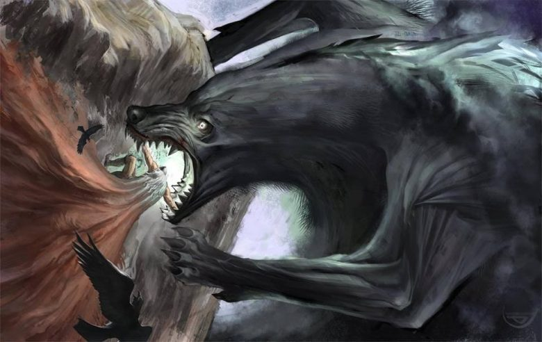 Image of Giant Wolf Fenrir