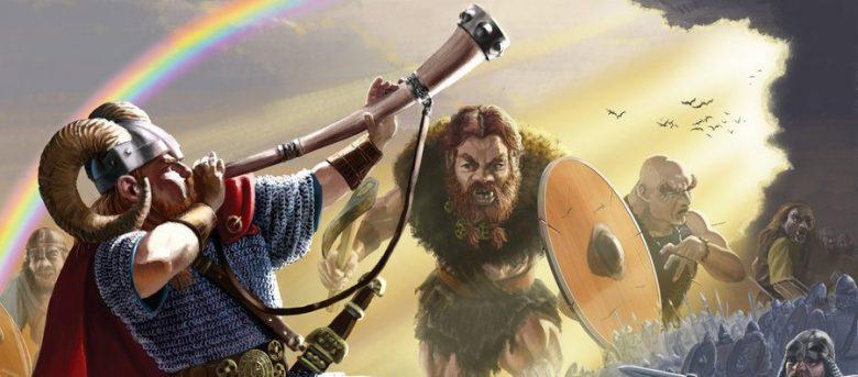 Image of Heimdall horn Ragnarok