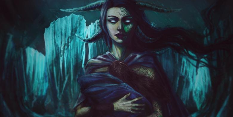 Image of Hel Death Goddess