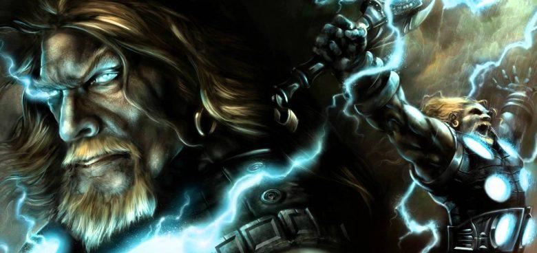 Norse god Thor Viking god Thor