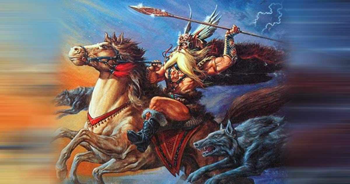 Image of Odin power Odin Sleipnir Gungnir Odin's names