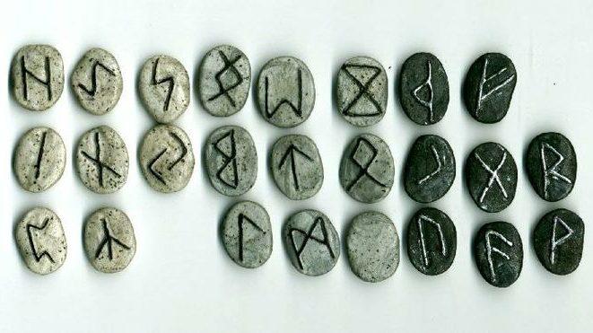 Image of Viking runes viking rune stones