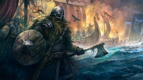 Image of Viking Warrior Viking Axe