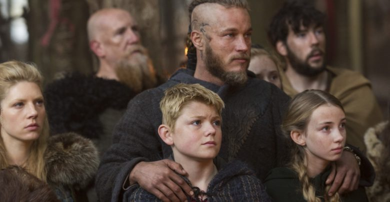 Image of Viking children