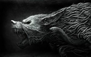 Image of Viking Wolf Symbol