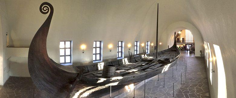 Image of Viking ship excavation Viking ship Oseberg