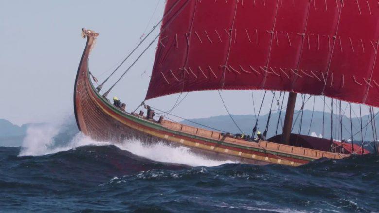 Viking draken harald fairhair largest viking replica ship
