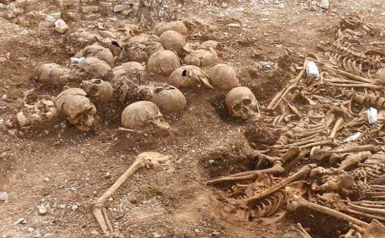 Viking headless skeletons in Dorset