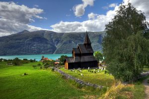 Viking Urnes Church