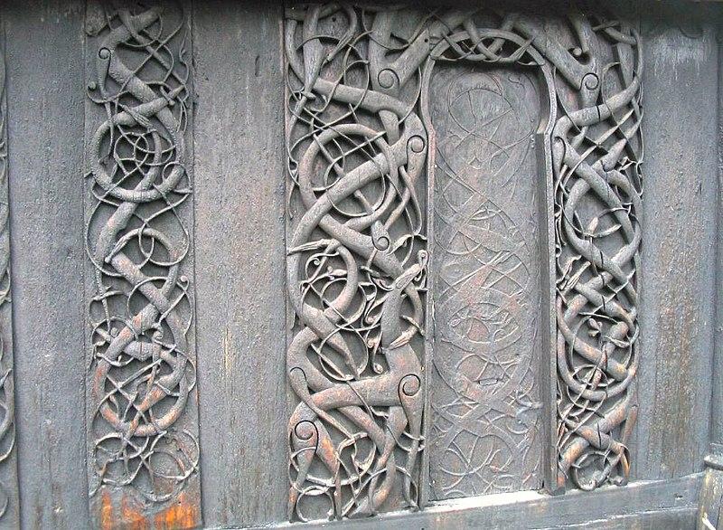 Viking Urnes Church