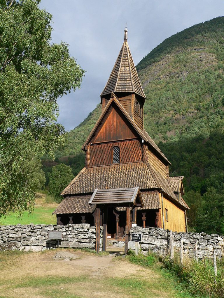 Viking Urnes Church seen from outside