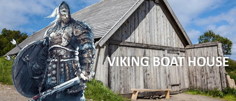 Viking boat house