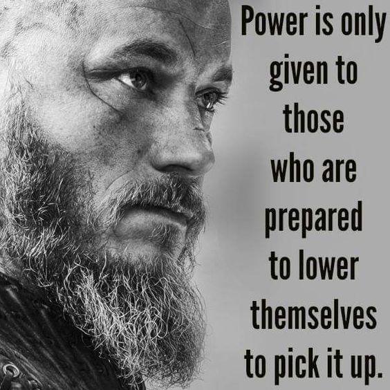 Ragnar Lothbrok Viking Warrior Quote